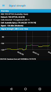 Phone Signal Strength Information (no ads) Screenshot
