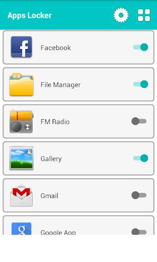 プライバシーガード - アプリロッカー
