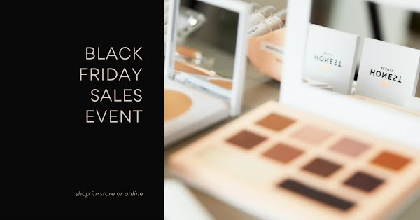 Black Friday Sales Event - Facebook Event Cover Template