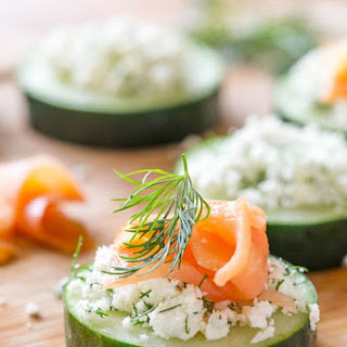 Smoked Salmon Cucumber Bites Recipe