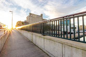 Photo: Bridge at sunrise