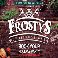Frosty's Christmas Bar logo