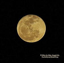 Photo: Feb 15ths Moon 2014