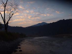 Photo: The sun sets over the Ramganga
