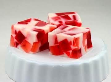 Valentine's Day Broken Glass Jello Recipe