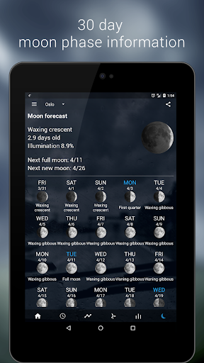 Transparent clock & weather  screenshots 24