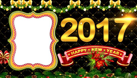 New Year Photo Frame 2017 screenshot