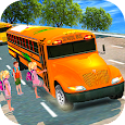 High School Bus Driving 3D icon