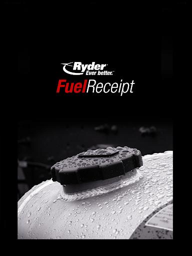Ryder Fuel Receipt