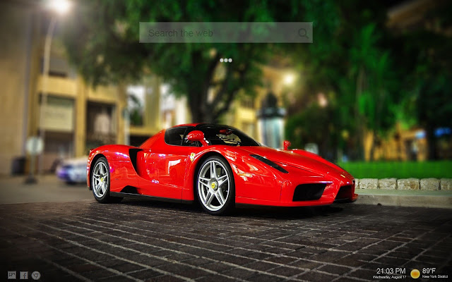 Ferrari HD New Tab Themes