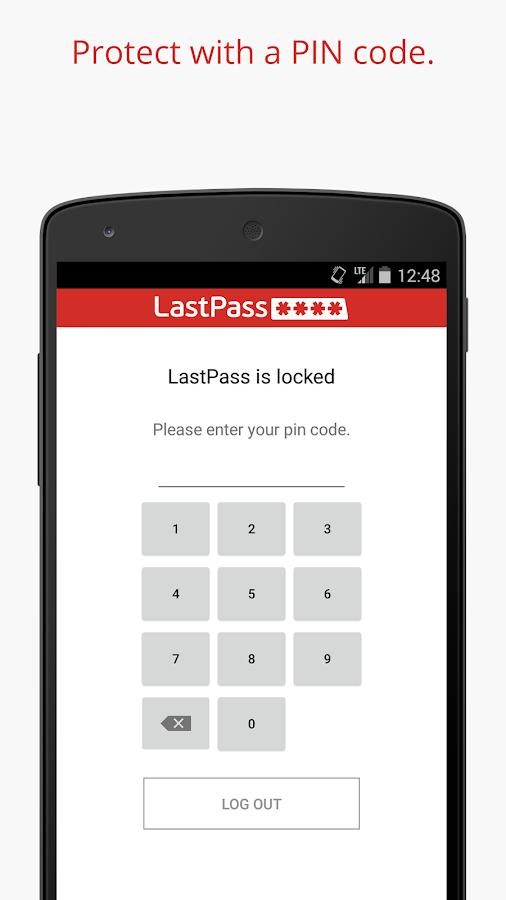 LastPass Password Manager- screenshot