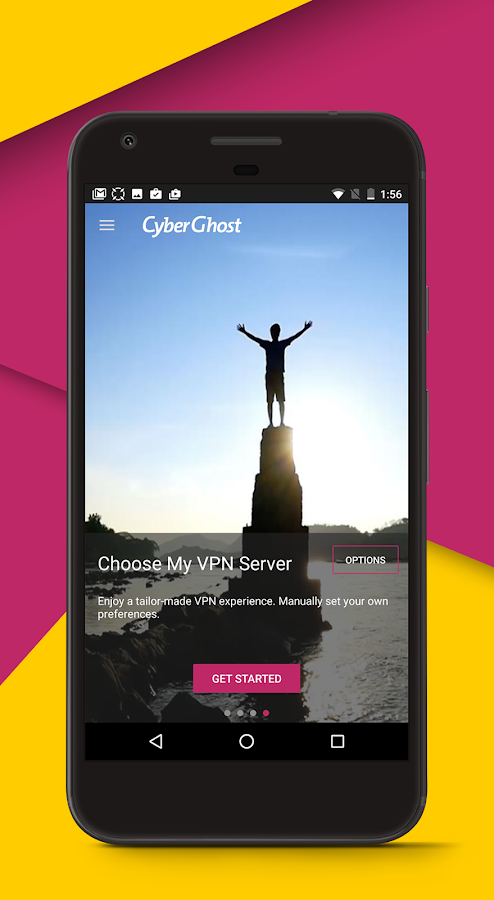 CyberGhost - Free VPN & Proxy – Screenshot