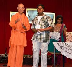 Photo: Award Receipient for the PSLE category - Ganesh Gunasekeran
