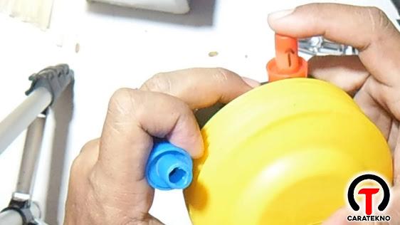 Cara Memperbaiki Pompa Plastik Kasur Angin