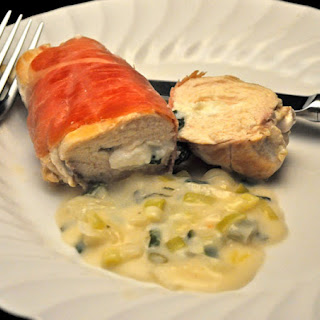 Chicken Breasts Stuffed with Goat Cheese.