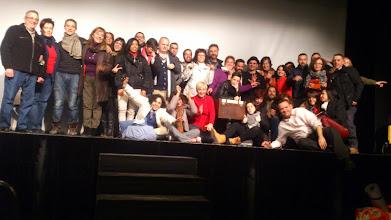 Photo: Compartiendo escenario con el Mago Antón
