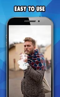 Smoke Effect On Photo-Smoking Images Hd Editing - náhled