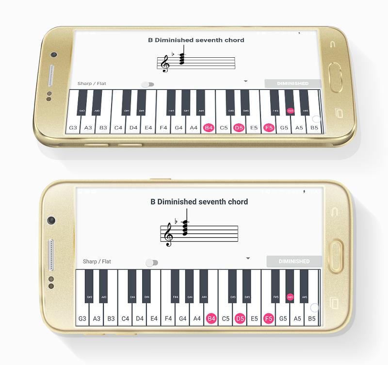 ChordProg Ear Trainer Screenshot 5