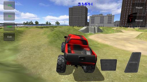 怪物卡車駕駛模擬器