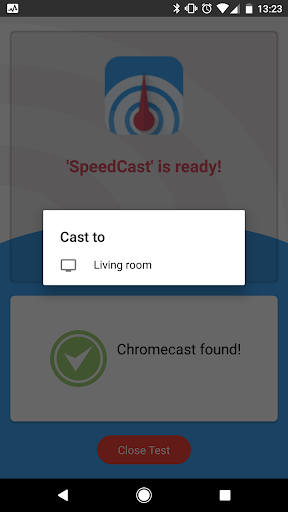 ⚡ SpeedCast - Internet speed test for Chromecast ⚡ 1.0.14 screenshots 2