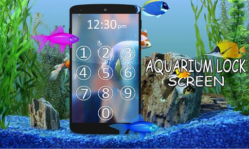Aquarium Passcode Screen lock