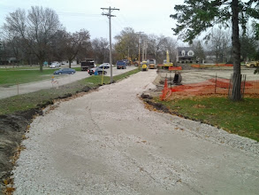 Photo: Path work continues 11-11-2013