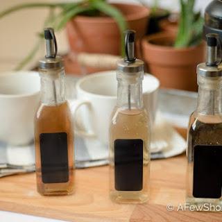 Homemade Coffee Syrups Recipes Recipe
