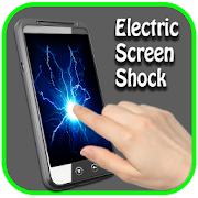 Electric shock touch screen