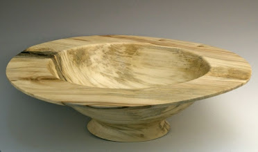 "Photo: Tim Aley - Bowl - 14"" x 4"" - maple"
