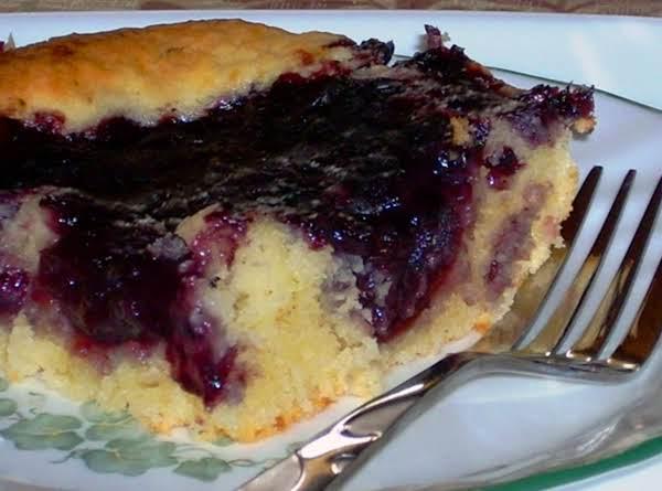 Jo's Blueberry Pudding Cake