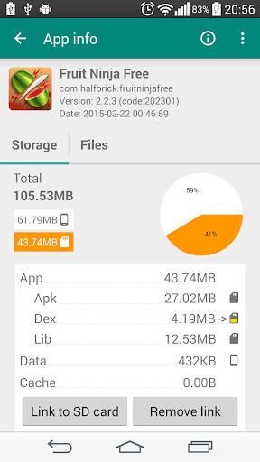 Link2SD screenshot 2