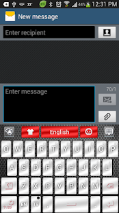 App Chrome Style GO Keyboard Theme APK for Windows Phone