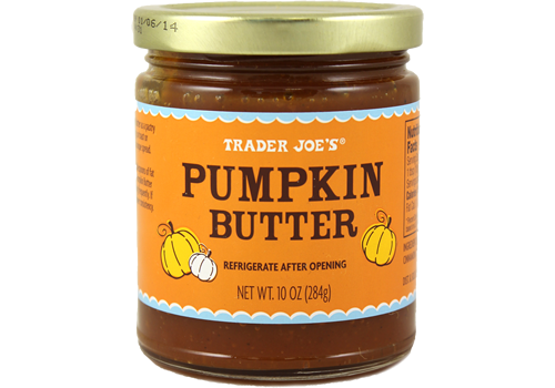 Jar of Trader Joe's Pumpkin Butter