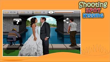 Screenshot of Shooting Spot Kissing
