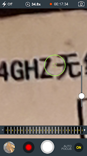 Magnifier PRO 35X zoom for technical workers Screenshot