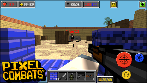 Pixel Combats: guns and blocks for PC