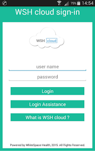 WSH cloud - náhled