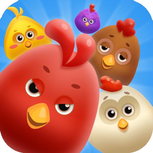 小雞消消消 策略 App LOGO-APP試玩