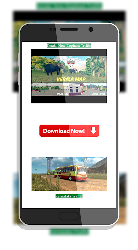 Tamil Bus Mod Livery | Indonesia Bus Simulator 1.1 screenshots 4