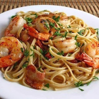 Pasta With Shrimp And Cheese