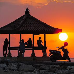 SUNRISE AT SANUR by Lessy Sebastian - Landscapes Travel
