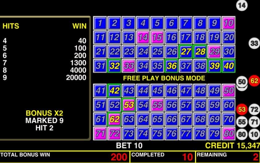 Keno Bonus Las Vegas Casino