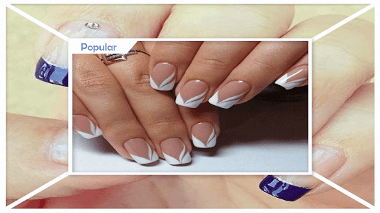 Fabulous French Manicure Designs - náhled