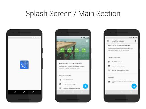 IconShowcase Dashboard Sample