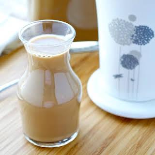 Non-Dairy Caramel Vanilla Coffee Creamer.