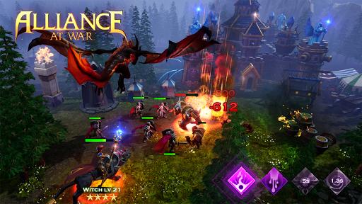 Télécharger Alliance at War: Dragon Empire - Strategy MMO mod apk screenshots 2