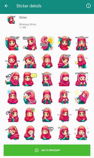 Download Muslimah Sticker For Whatsapp On Pc Mac With Appkiwi