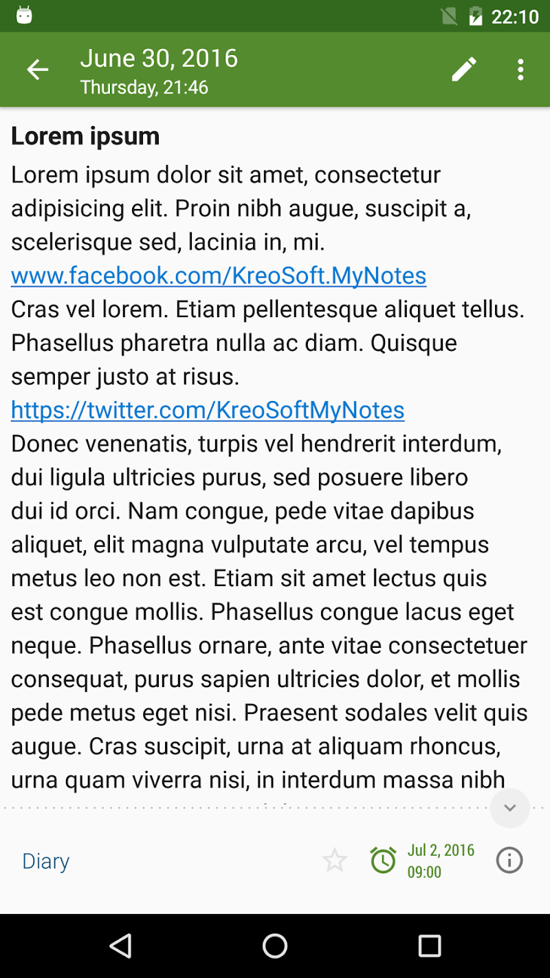 My Notes - Notepad Screenshot 4