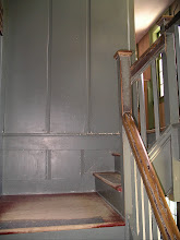 Photo: Parsonage front staircase