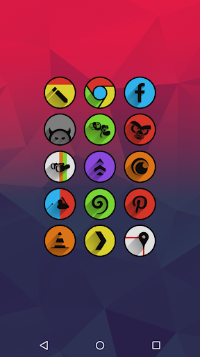Screenshot for Umbra - Icon Pack in United States Play Store